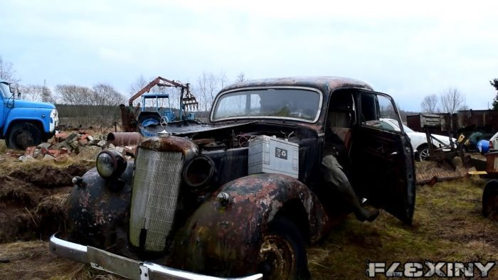 1937 Mercedes Benz w153 Cold Start After 11 Years Failed 1080p