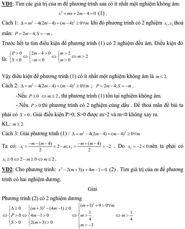 tìm m để phương trình có nghiệm