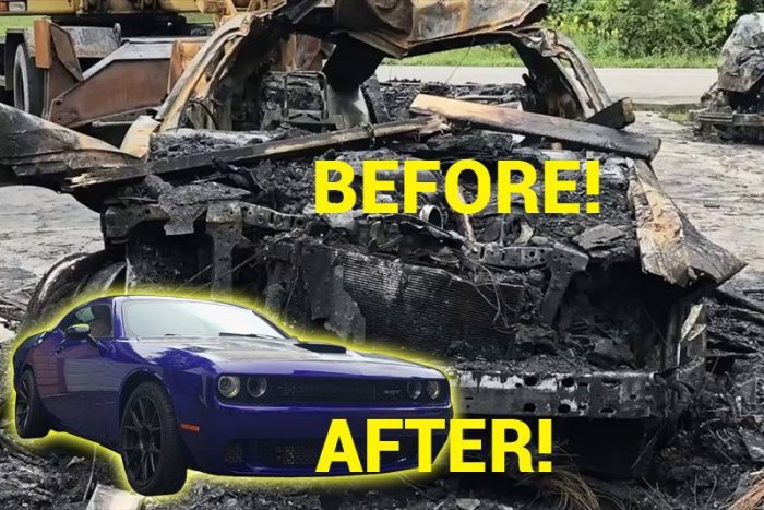 Restore the car after the Fire