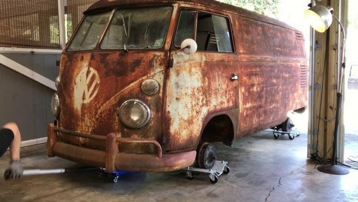 Volkswagen bus restoration