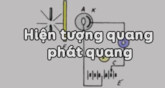 Bài 32. Hiện tượng quang - Phát quang