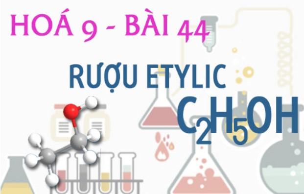 Công thức hóa học của rượu