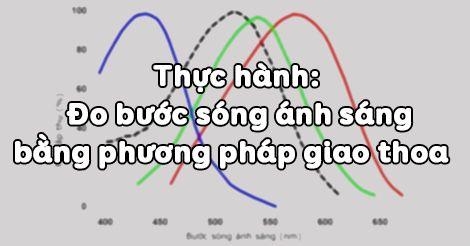 Thực hành đo bước sóng ánh sáng bằng phương pháp giao thoa